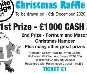 Buy Christmas raffle tickets online